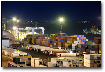 Image of a U.S. port